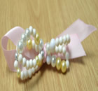 Beaded Hair Clip Designs with Pearls