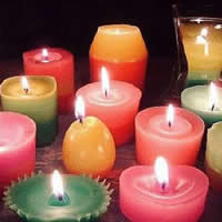 Colorful Candle Making