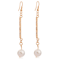 Linear Earrings Exude Refined Elegance