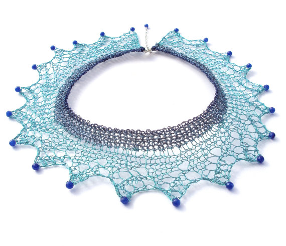 How To Make A Necklace With Wire Lace