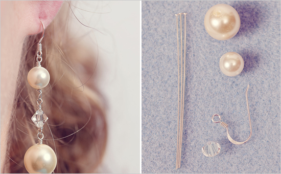 DIY Drop Earrings