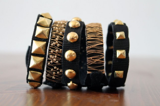 Chic Studded Stacking Bracelets