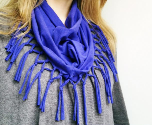 Fashion T-Shirt Scarf