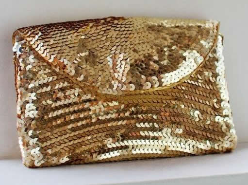 DIY Sequin Purse