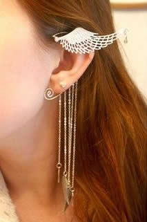 DIY Wing Earring Cuff