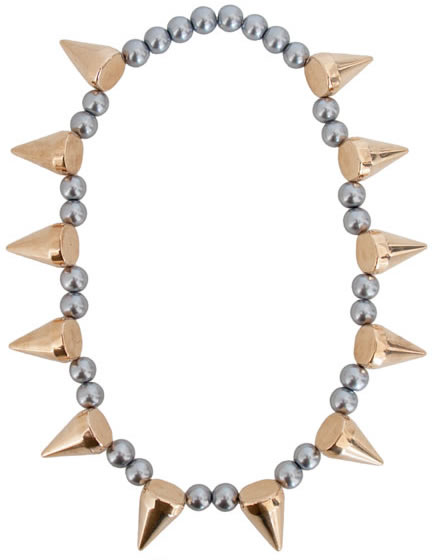 Pearl Spike Necklace