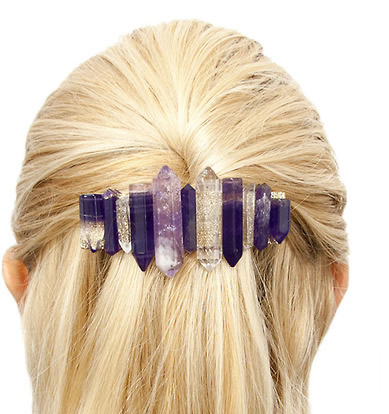 DIY Quartz Barrette