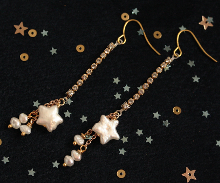 Milky Way Star Earring