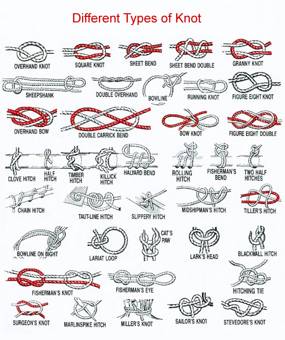 Different Types of Knot Introduction
