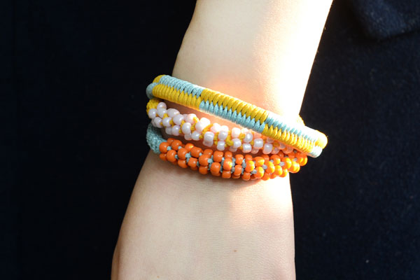 Fishtail Friendship Bracelet