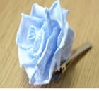 Fabulous Blue Rose Flower Hair Clip