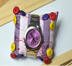 How to Make a Colorful Watch Pillow