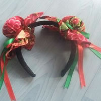 DIY Bun Shaped Hair Band