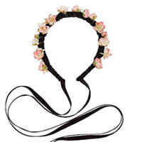 DIY Flower Hair Band