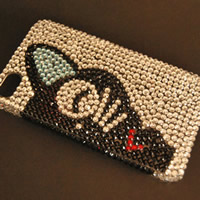 Rhinestone Mobile Phone Cover