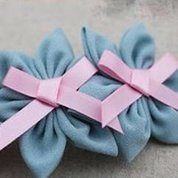 DIY Chiffon Hair Clip Accessories