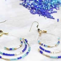 Glass Seed Beads Earring