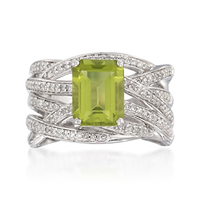 The Official Birthstone for August is Peridot
