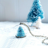 Winter Wonderful Globe Necklace