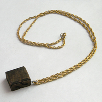 Vintage Wooden Necklace