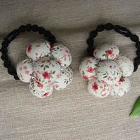 Flower Ponytail Holder