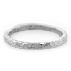 Making a Textured Fine Silver Ring