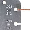Using a Wire Gauge